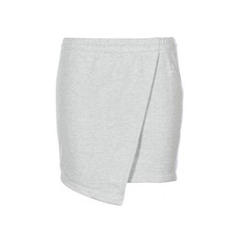 Converse CONVERSE STAR CHEVRON TRACK SKIRT women's Skirt in Grey