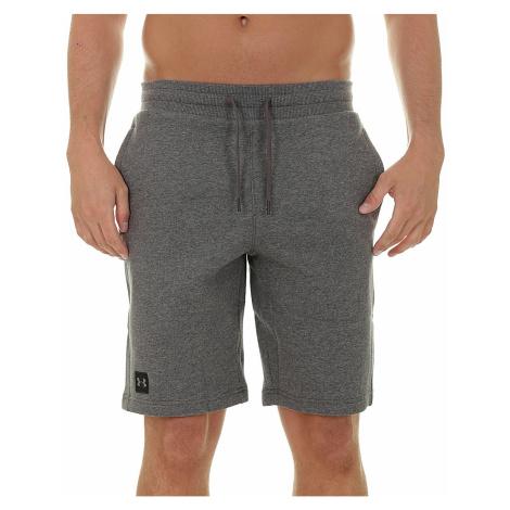 shorts Under Armour Rival Fleece - 020/Charcoal Light Heather - men´s