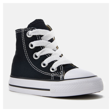 Converse Toddlers' Chuck Taylor All Star Hi-Top Trainers - Black - Black