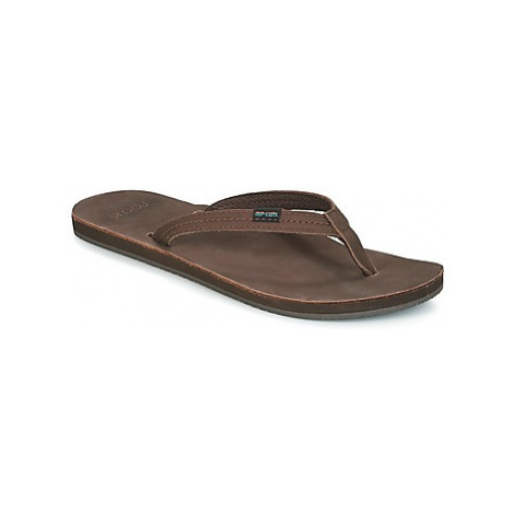 Rip Curl RIVIERA women's Flip flops / Sandals (Shoes) in Brown