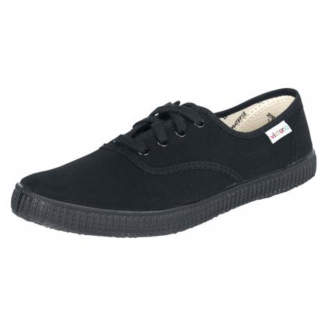 Victoria - Inglesa Lona Piso - Sneakers - black-black
