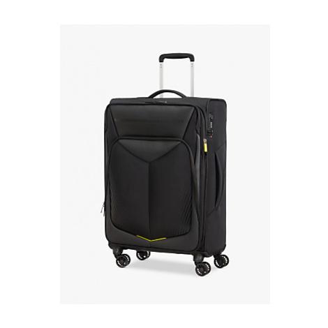 American Tourister Summer Funk Carbon 4-Wheel 67cm Medium Suitcase, Black