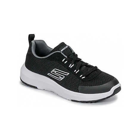 Skechers DYNAMIC TREAD boys's Children's Sports Trainers (Shoes) in Black