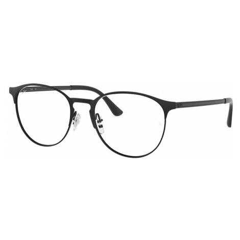 Ray-Ban Rb6375 Unisex Optical Lenses: Multicolor, Frame: Black - RB6375 2944 51-18