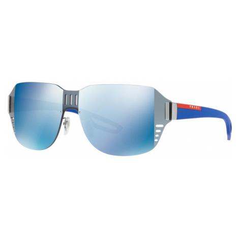 Prada Linea Rossa Man PS 05SS - Frame color: Blue, Lens color: Blue, Size 01-44/140