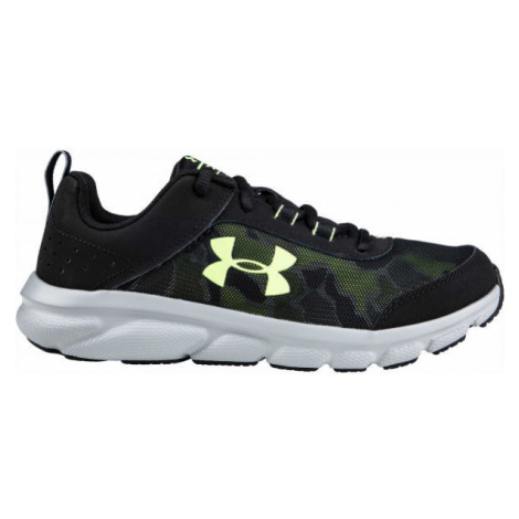 Under Armour GS ASSERT 8 black - Kids' running shoes