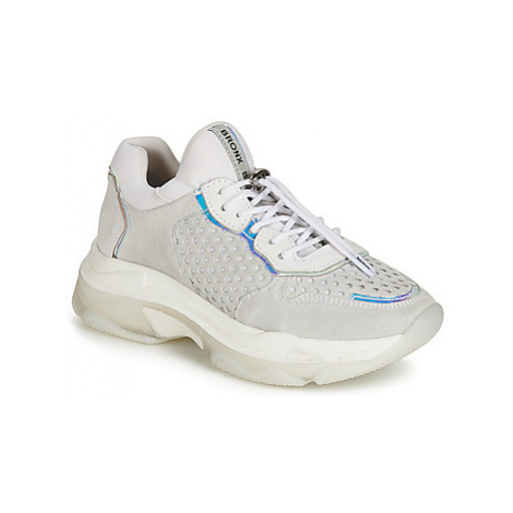 Bronx BAISLEY women's Shoes (Trainers) in Grey