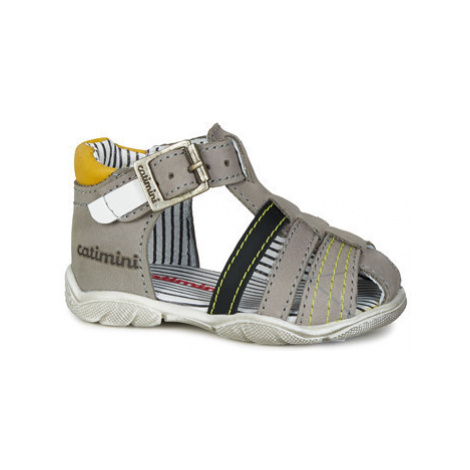 Catimini BUKAN boys's Children's Sandals in Grey