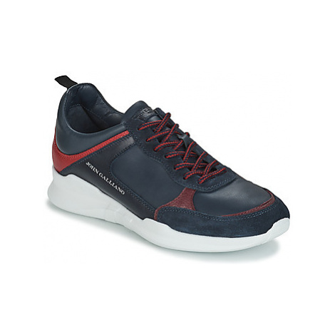 John Galliano RUNNING men's Shoes (Trainers) in Blue
