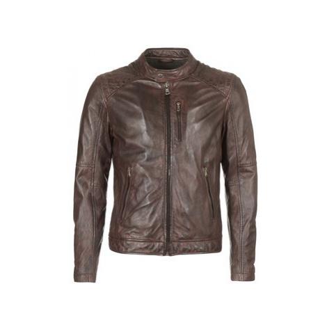 Oakwood AGENCY men's Leather jacket in Brown