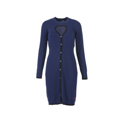 Love Moschino PESCARI women's Dress in Blue