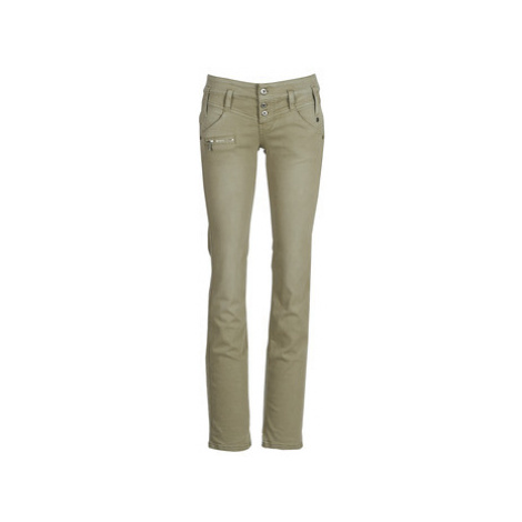 Freeman T.Porter Amelie New Magic Color women's Trousers in Kaki Freeman T. Porter