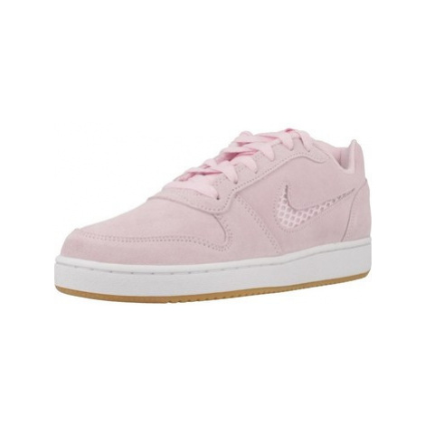 Nike EBERNON LOW PREM women's Shoes (Trainers) in Pink