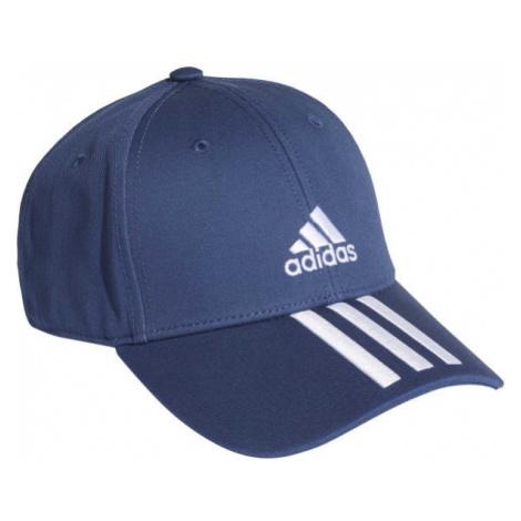 adidas BASEBALL 3 STRIPES CAP COTTON dark blue - Baseball cap