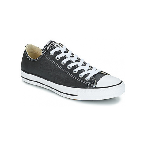 Converse CHUCK TAYLOR CORE LEATHER OX women's Shoes (Trainers) in Black