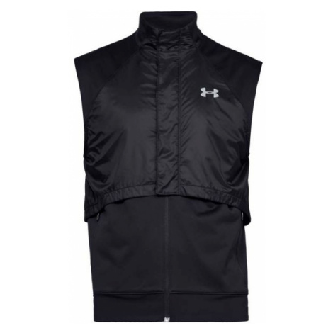Under Armour PICK UP THE PACE INSULATED VEST black - Men's running vest