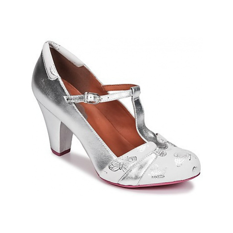 Cristofoli CAOLA women's Court Shoes in Silver Cristófoli