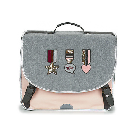 Ikks URBAN LAB CARTABLE 41 CM girls's Briefcase in Grey