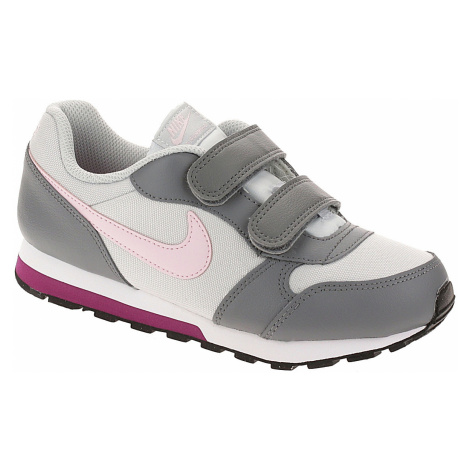 shoes Nike MD Runner 2 PSV - Pure Platinum/Pink Foam/Cool Gray - girl´s