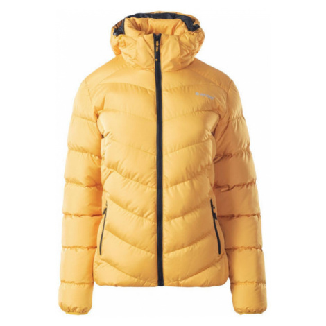 Hi-Tec LADY FISA yellow - Women's quilted jacket