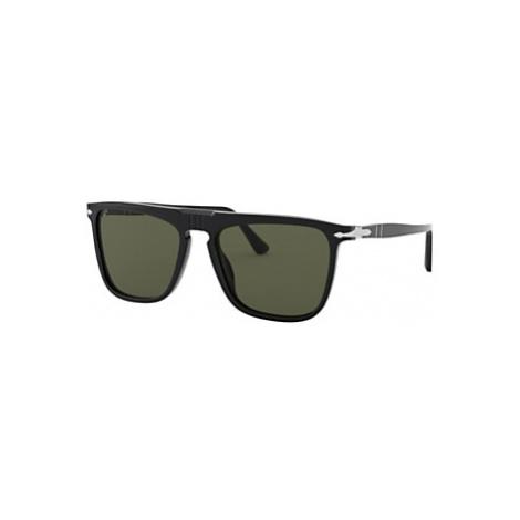 Persol PO3225S Unisex Polarised Rectangular Sunglasses