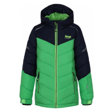 Loap FUGAS green - Kids' skiing jacket