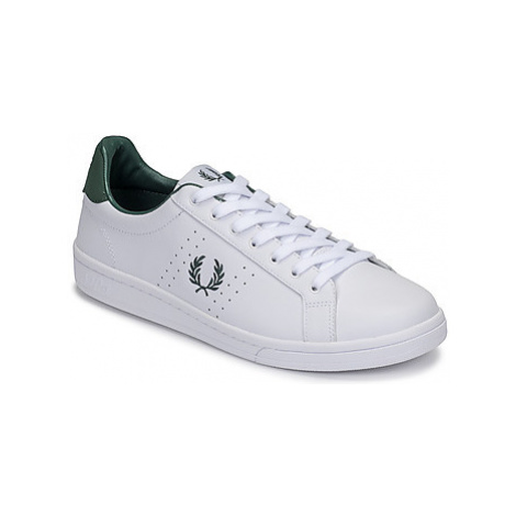 Fred Perry B721 LEATHER men's Shoes (Trainers) in White
