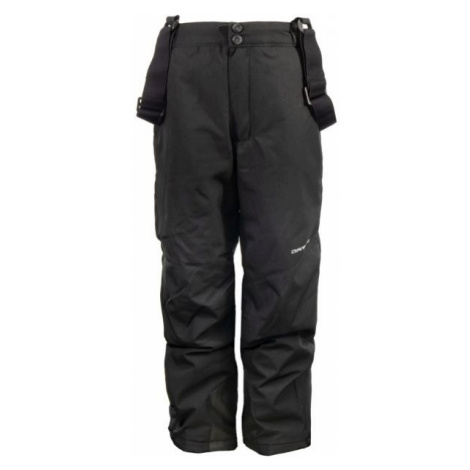 ALPINE PRO FRIDO black - Kids' ski pants