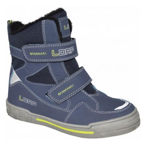 Loap JOYA blue - Kids' winter shoes