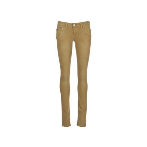 Freeman T.Porter ALEXA MAGIC COLOR women's Skinny Jeans in Brown Freeman T. Porter