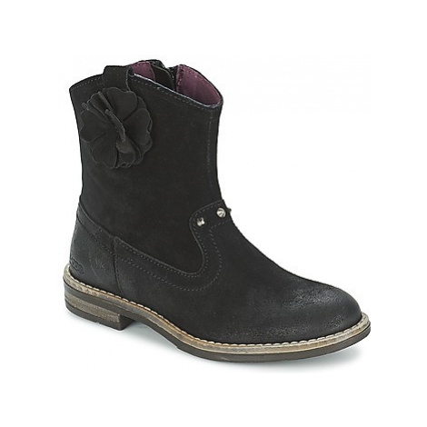 Mod'8 NOLA girls's Children's Mid Boots in Black