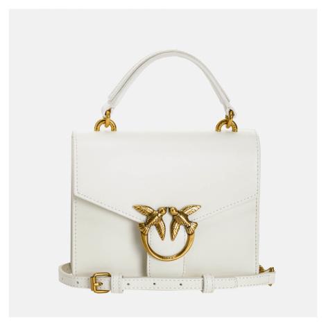 Pinko Women's Love Mini Top Handle Bag - White