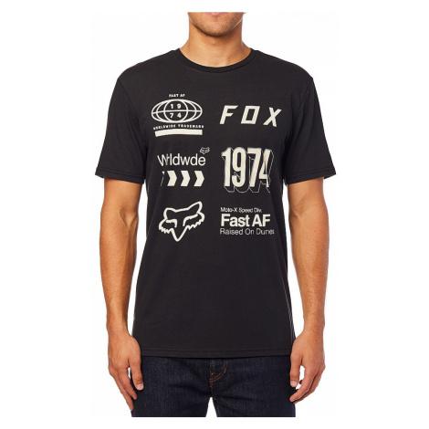 T-Shirt Fox Worldwide Airline - Black/Gray - men´s