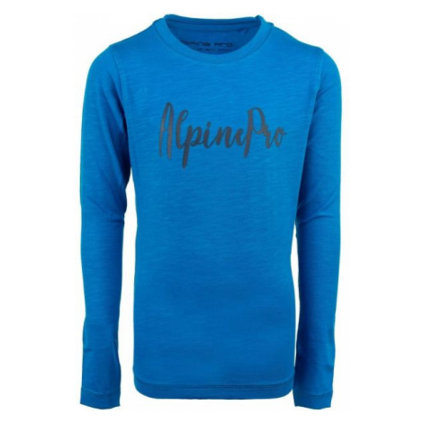 ALPINE PRO CAMRO blue - Children's T-shirt