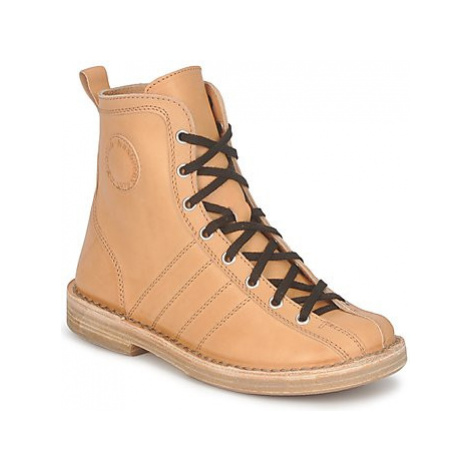 Swedish hasbeens VINTAGE BOWLING BOOT women's Mid Boots in Beige