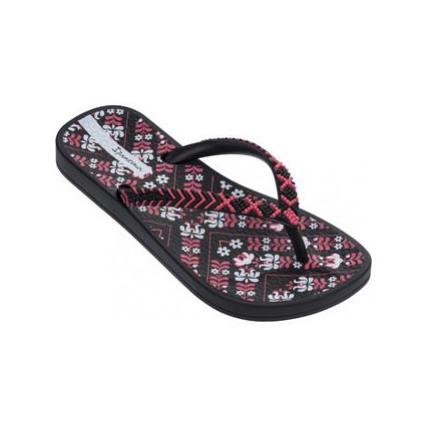 Ipanema Anatomic Lovely Kids girls's Children's Flip flops / Sandals in Black