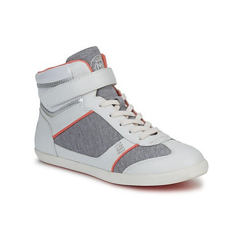 Dorotennis MONTANTE VELCRO women's Shoes (High-top Trainers) in Grey