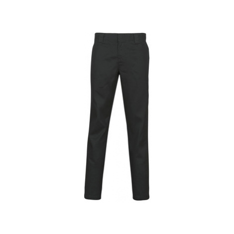 Dickies SLIM FIT WORK PNT men's Trousers in Black