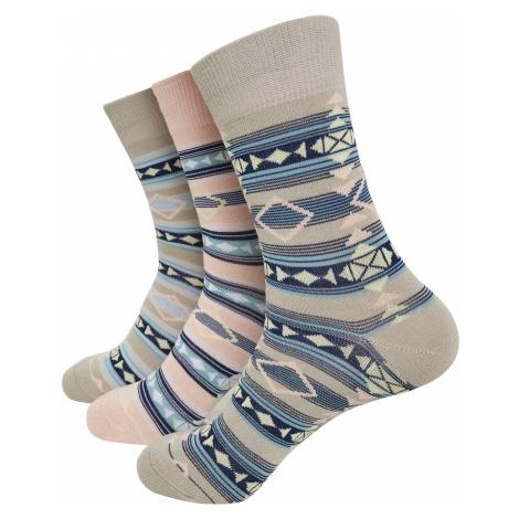 Urban Classics - Inka Socks 3-Pack - Socks - multicolour