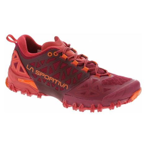 shoes La Sportiva Bushido II - Beet/Garnet - women´s