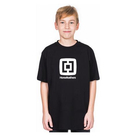 T-shirt Horsefeathers Fair - Black