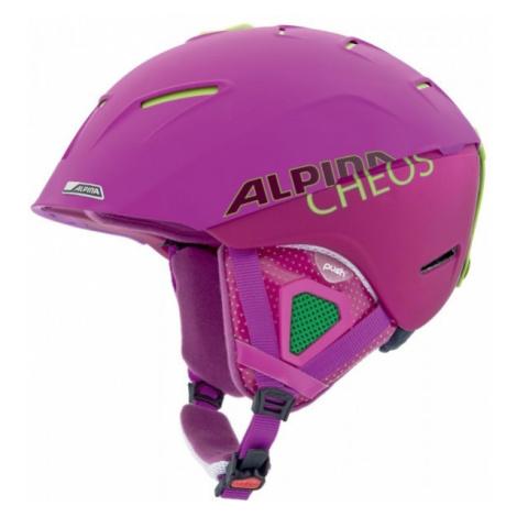Alpina Sports CHEOS purple - Alpine Ski Helmet