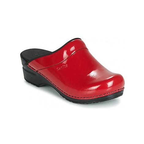 Sanita SONJA women's Clogs (Shoes) in Red