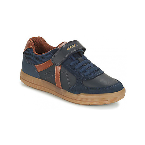 Geox J ARZACH B. E - GBK+SCAM. girls's Children's Shoes (Trainers) in Blue