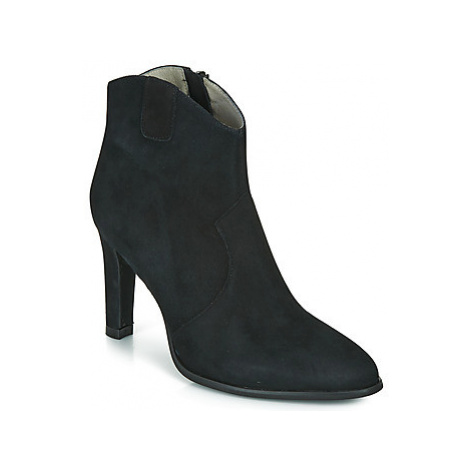 Myma PATINA women's Low Ankle Boots in Black