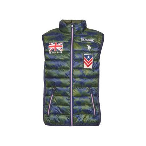 U.S Polo Assn. CAMU UK men's Jacket in Green U.S. Polo Assn