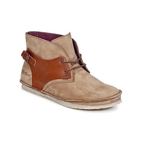 Kickers MYSTIMIX women's Mid Boots in Brown