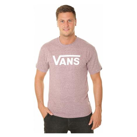 T-Shirt Vans Classic Heather - Prune - men´s