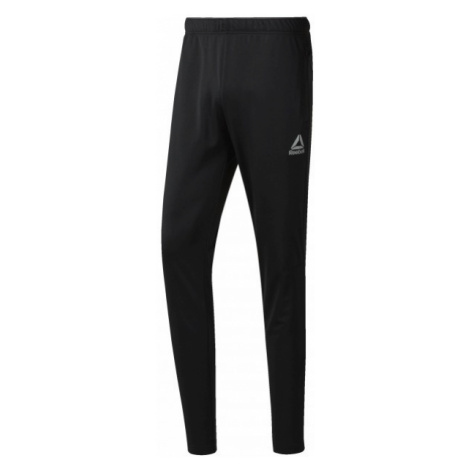 Reebok WORKOUT READY STACKED LOGO TRACKSTER PANT black - Men's sports trousers