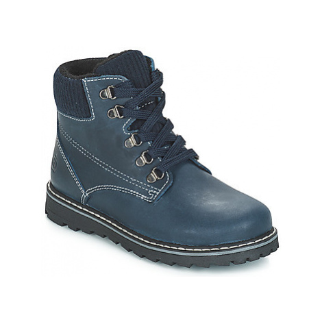 Citrouille et Compagnie JOBA boys's Children's Mid Boots in Blue